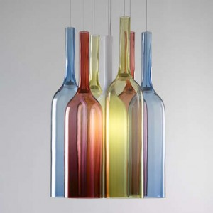 glass blown lights