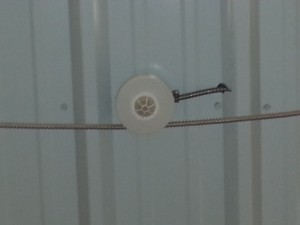 our warehouse lighting is on motion detection so if we are not in that isle the lights go off to save energy
