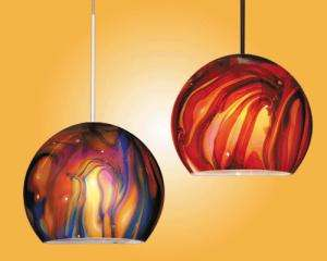 swirl hanging lights
