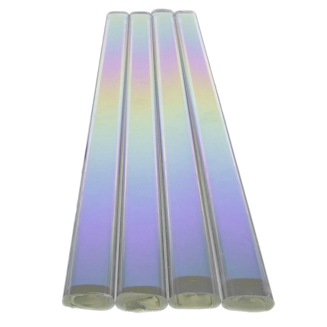 18mm Dichroic Coated Clear Flat Rod