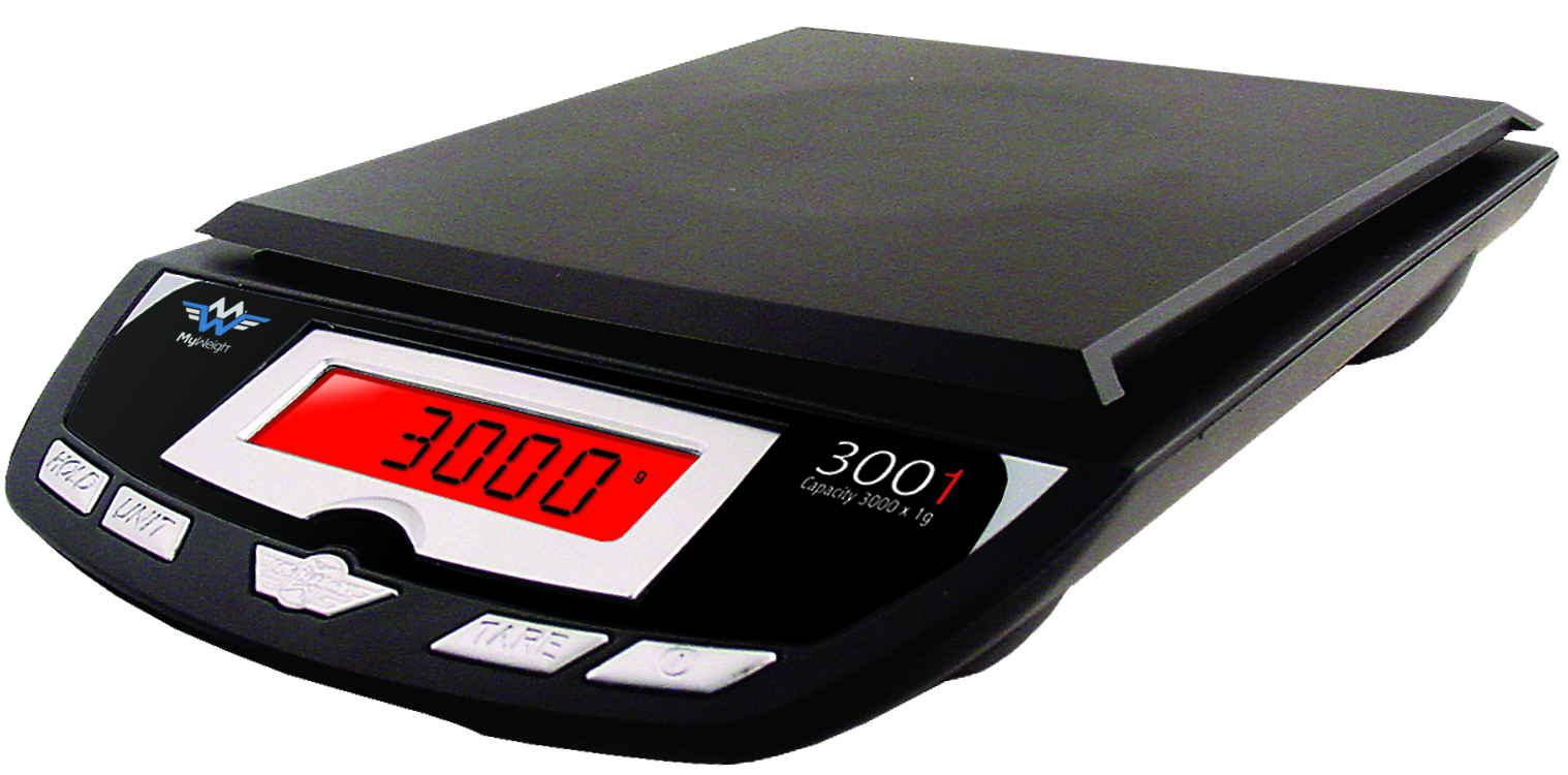 My Weigh 3001P - 3000g x .1g Scale
