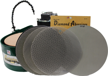 "10"" Super Diamond Lapidary Maxi Lap"