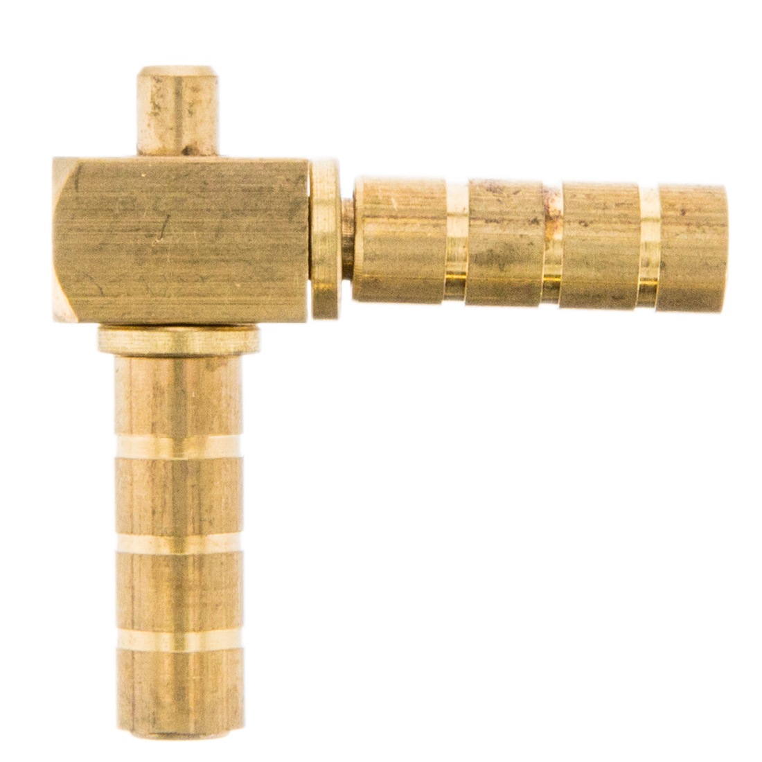 "1/4"" 90 Degree Brass Double Swivel"
