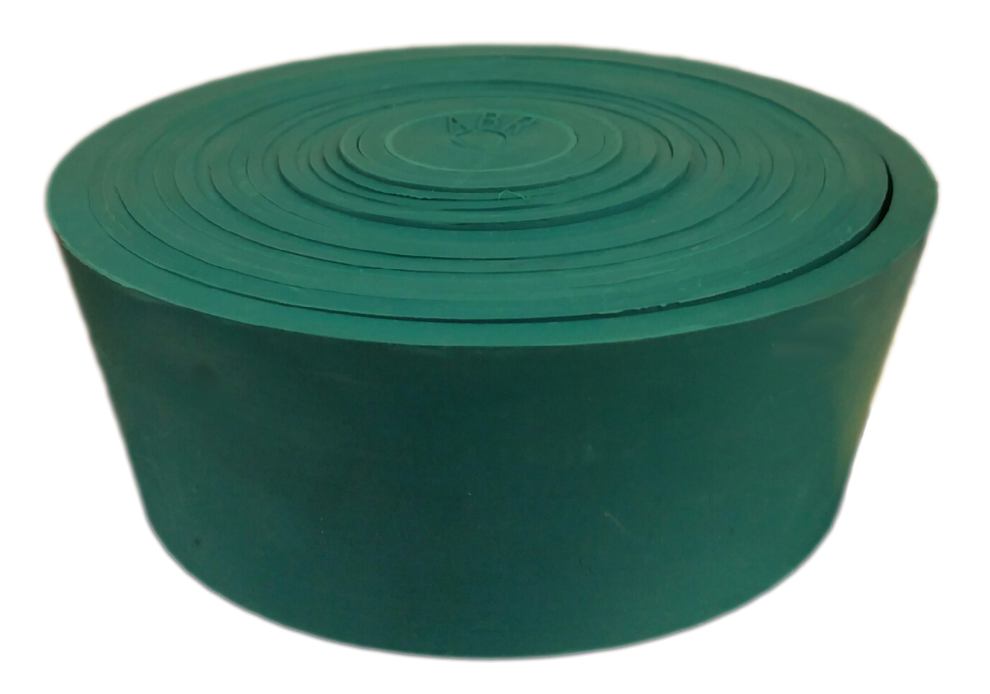 "4.5"" Silicone Green Nested Stopper"