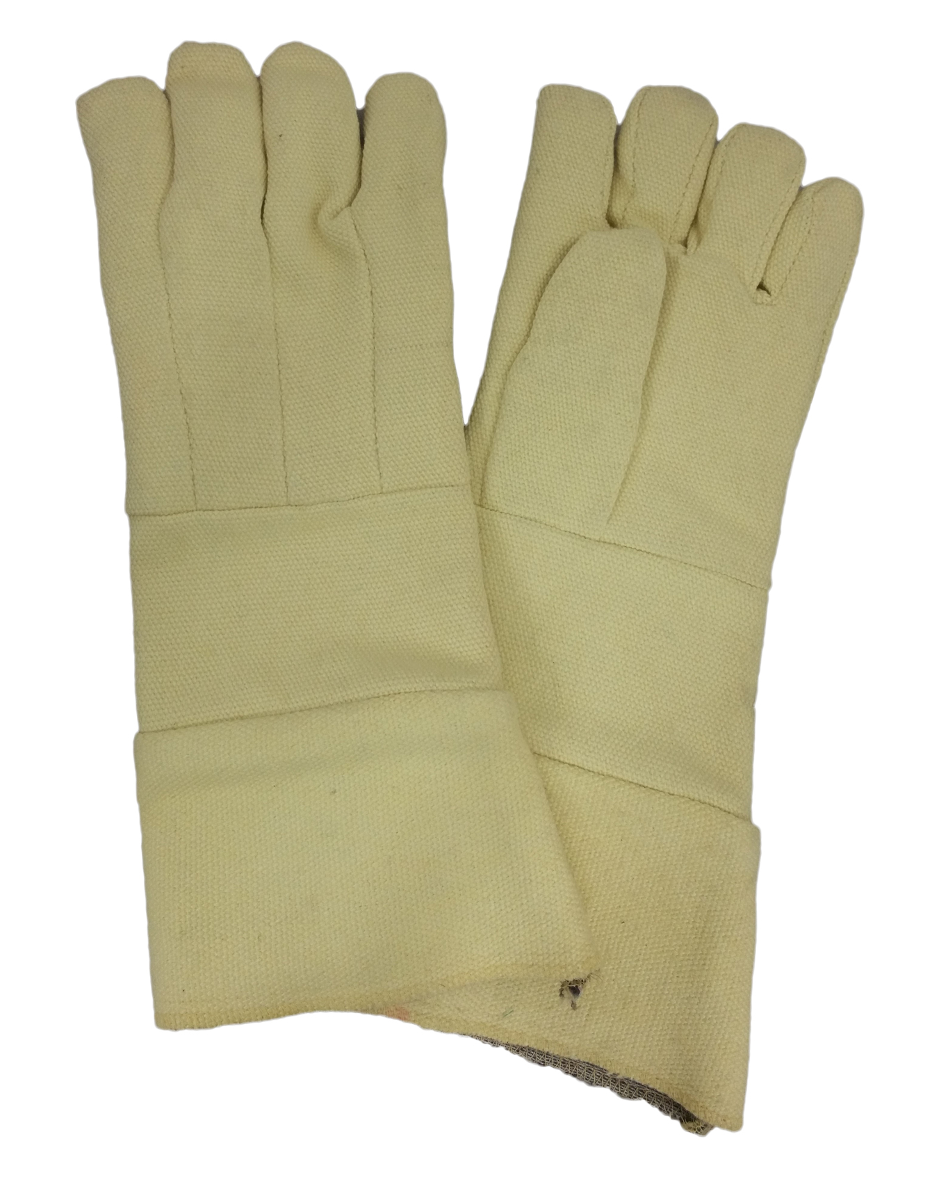 "18"" Yellow Kevlar Gloves (pr)"