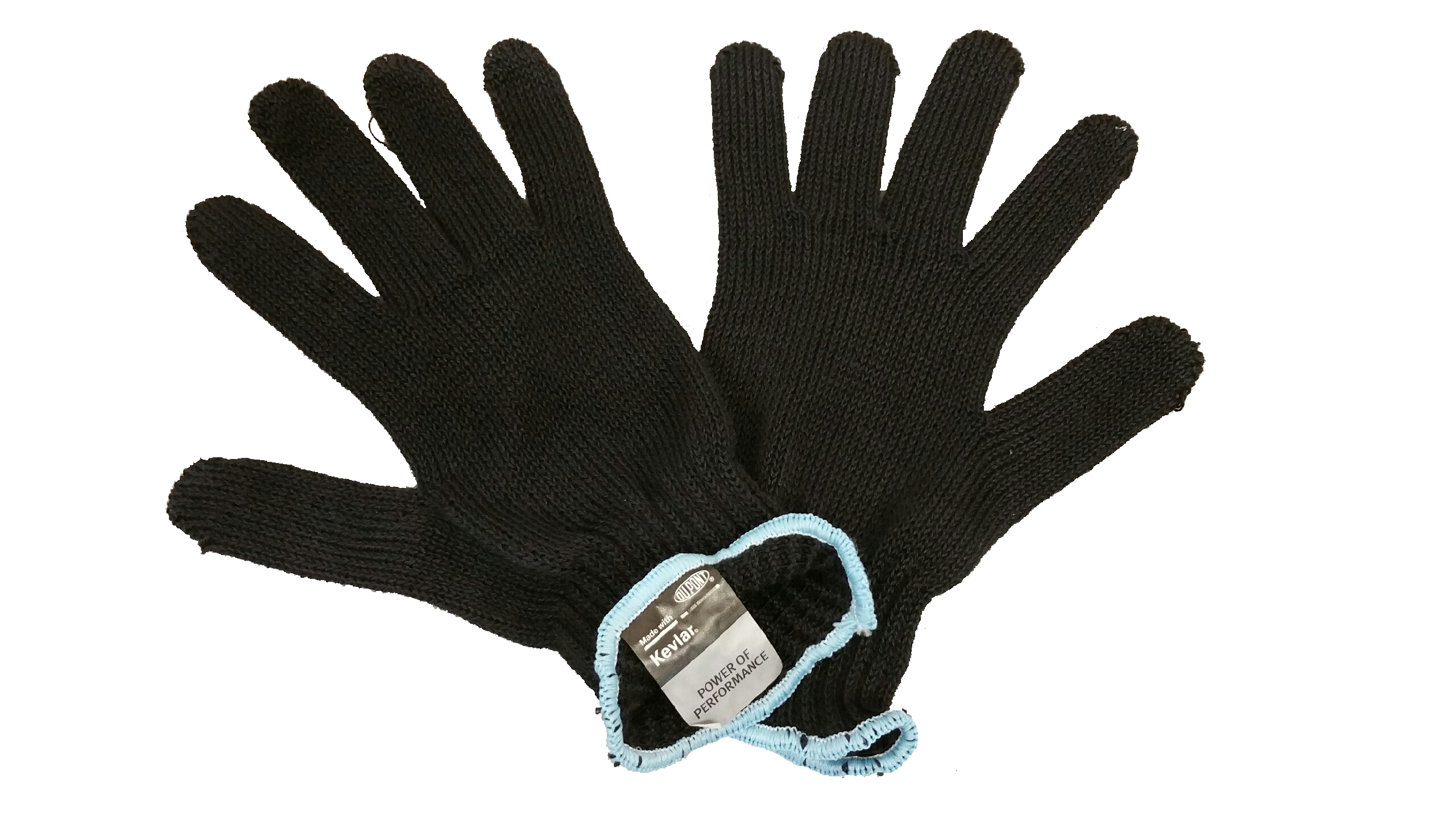"8"" Small Black Kevlar Gloves"