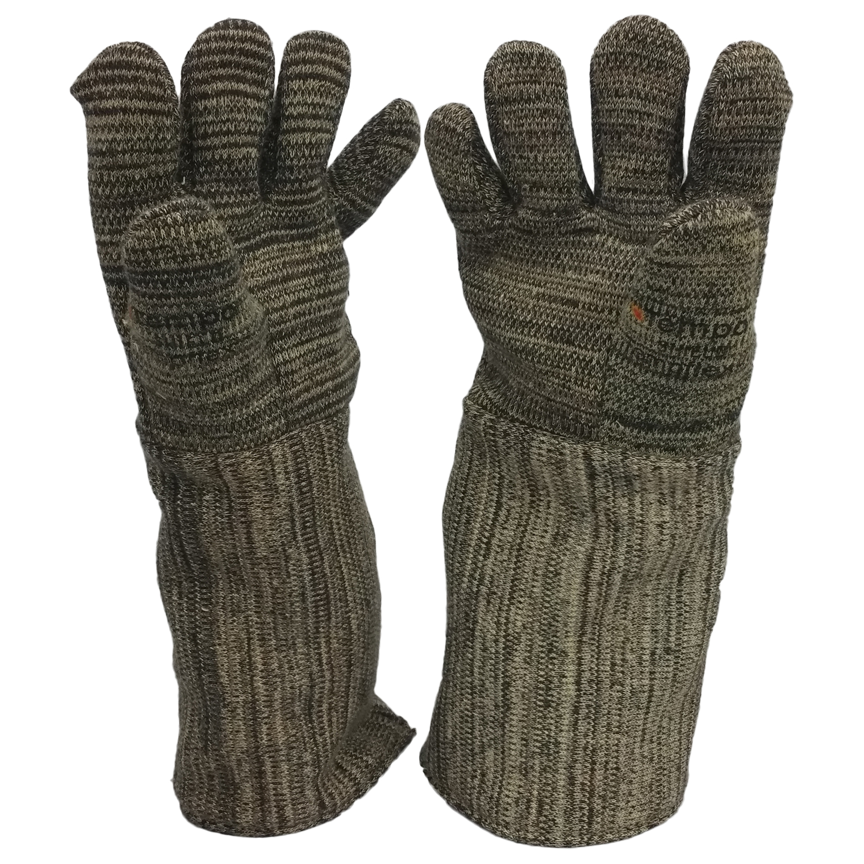 "23"" Wool Lined Heat Shield Gloves"