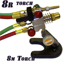 National 8-R Rider Torch for 8-M
