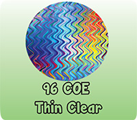 96 COE THIN CLEAR