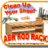 ABR Glass Rod Rack
