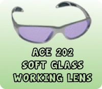 ACE 202 SOFT GLASS WORKING LENS
