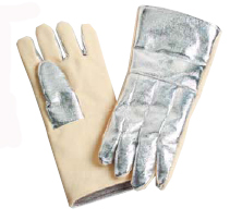 "14"" Half Aluminized Kevlar Gloves"