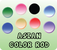 Asian Color Rod