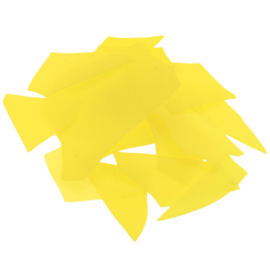 Bullseye Canary Yellow Confetti