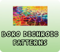 BORO DICHROIC PATTERNS SHEETS