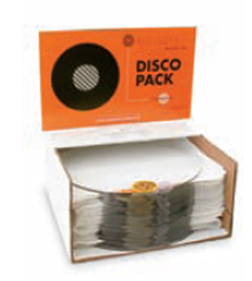 CLEAR 3MM DISCO PACK 12 INCH