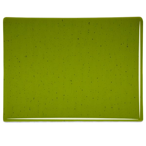 Trans. Lily Pad Green 3mm Iridized