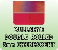 DOUBLE ROLLED 3mm IRIDESCENT
