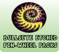ETCHED PIN-WHEEL PACKS