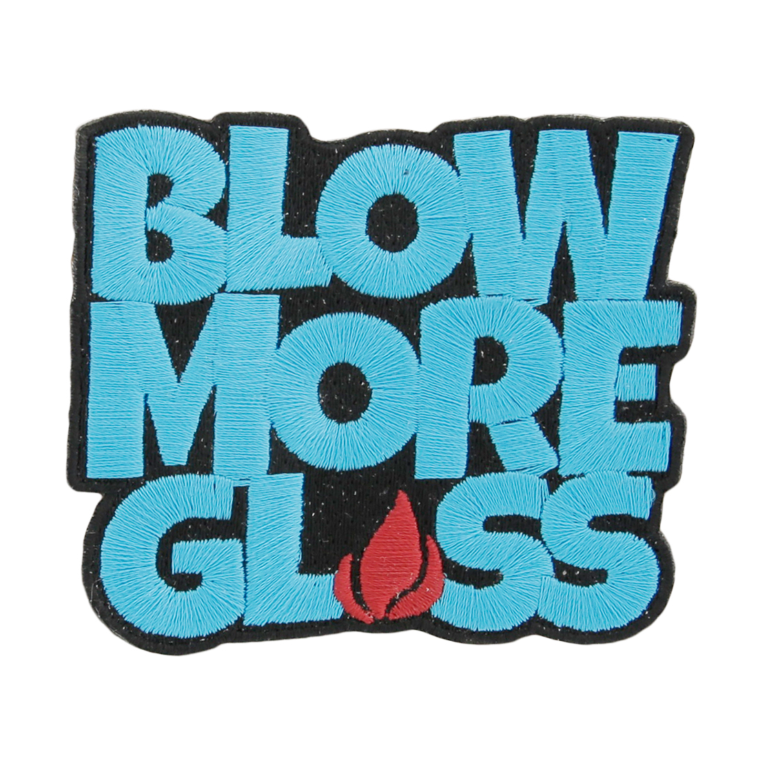 Blow More Glass Sew On Patch