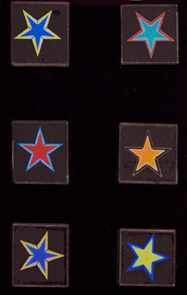 Dichroic Star Images LARGE 96COE