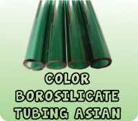 COLOR BOROSILICATE TUBING ASIAN
