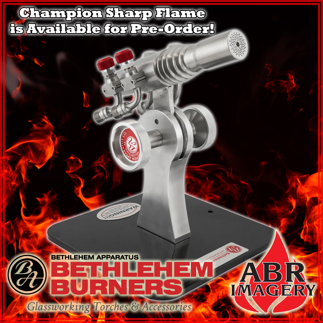 Beth. Champion Sharp Flame Torch