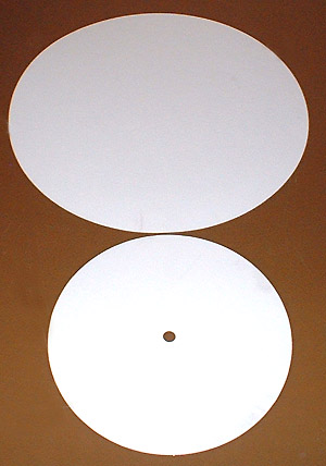 POLISHING SYTHENTIC FELT DISC 6""