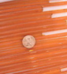 Devardi Opaque Misty Orange Rod