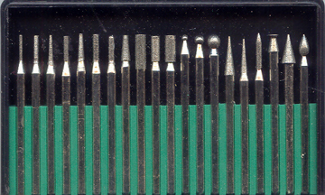 20 pc. Diamond Bur Set