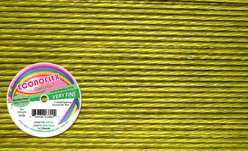 Spring Green Beading Wire