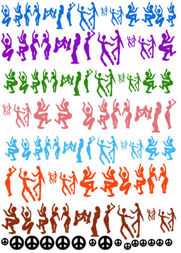 Boogie Down 3 Enamel Decals
