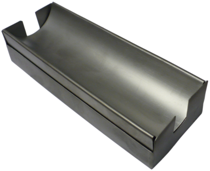 Stainless Frit Tray w/stand, 8x3""