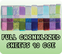 FULL CRINKLIZED SHEETS 90 COE