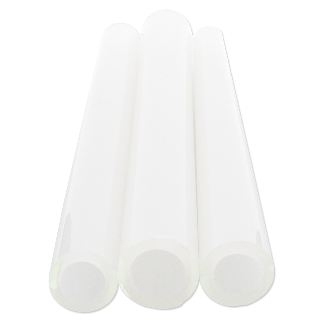 GG Silky White Satin in Clear Tube