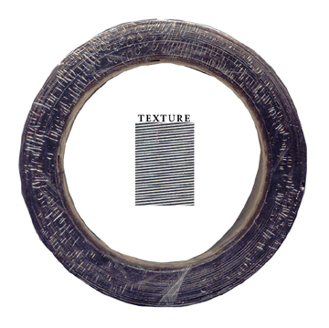 "1"" x 0.01"" Textured Graphite Tape"