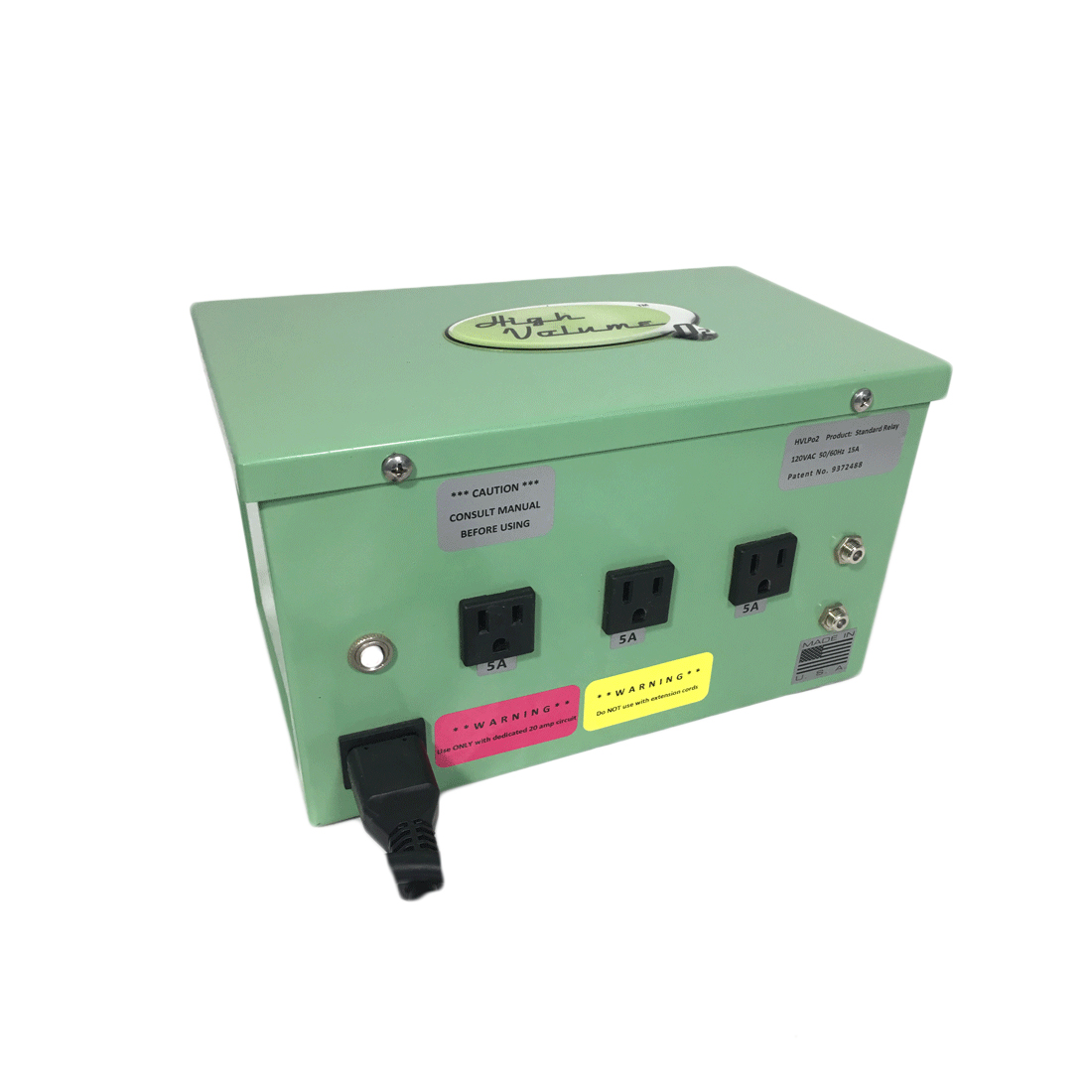 HVO- Relay Box - 3 Outlet (USA)