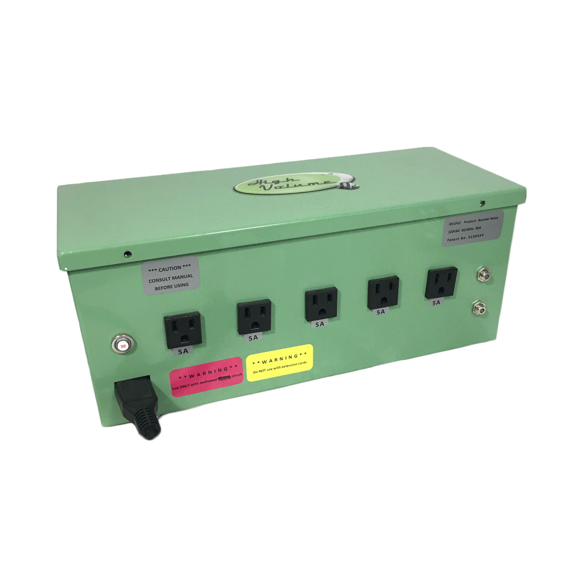 HVO- Relay Box - 5 Outlet (USA)