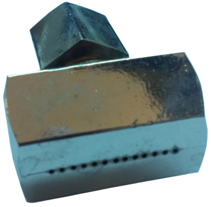 "1"" Single-Row Ribbon Burner Tip"