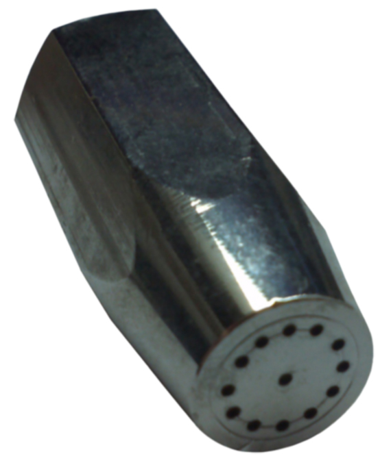 "1"" 12-Hole Tip w/ Center Hole"