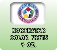 NORTHSTAR COLOR FRITS 4 OZ.
