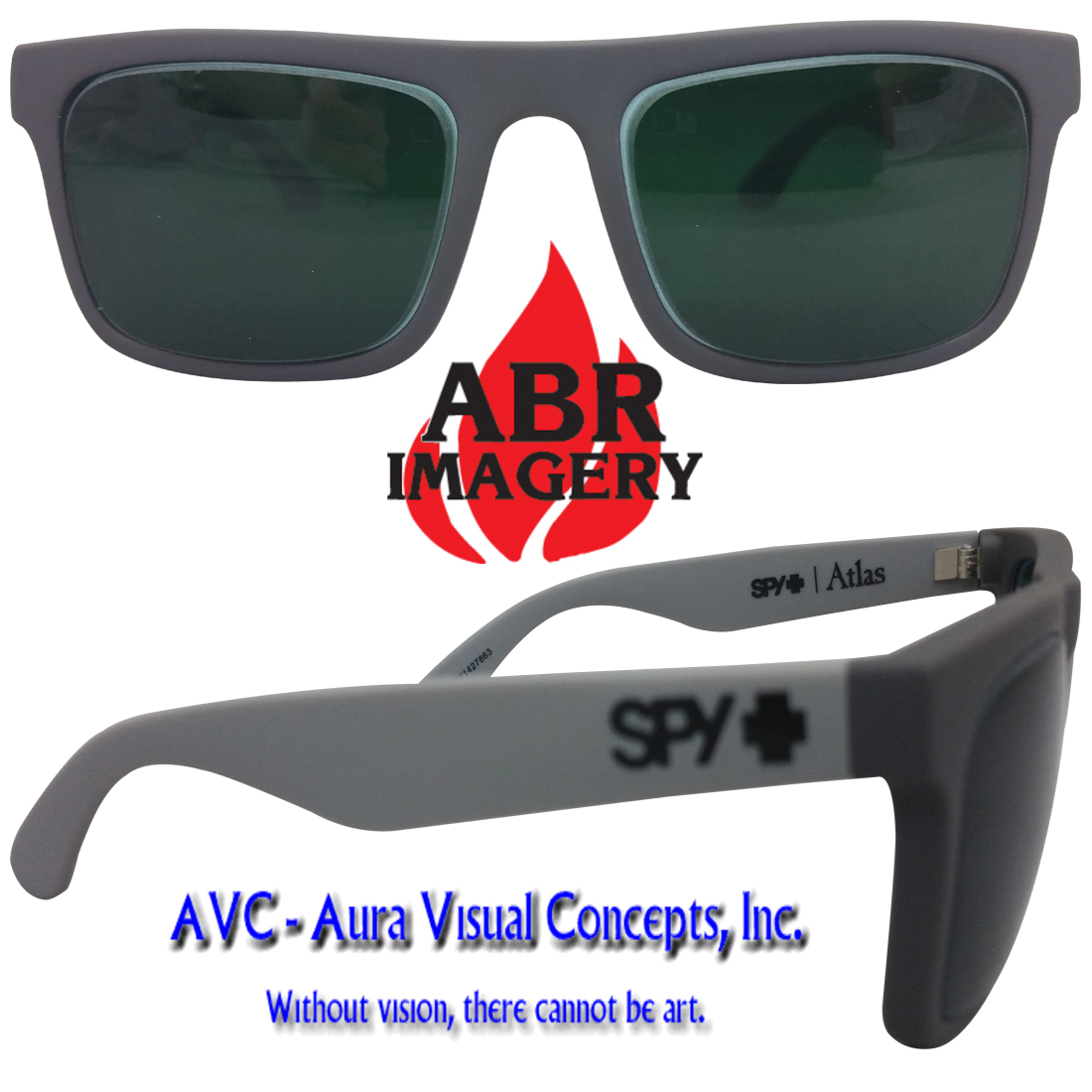 Spy Atlas Grey Shade 5 Aura Lens
