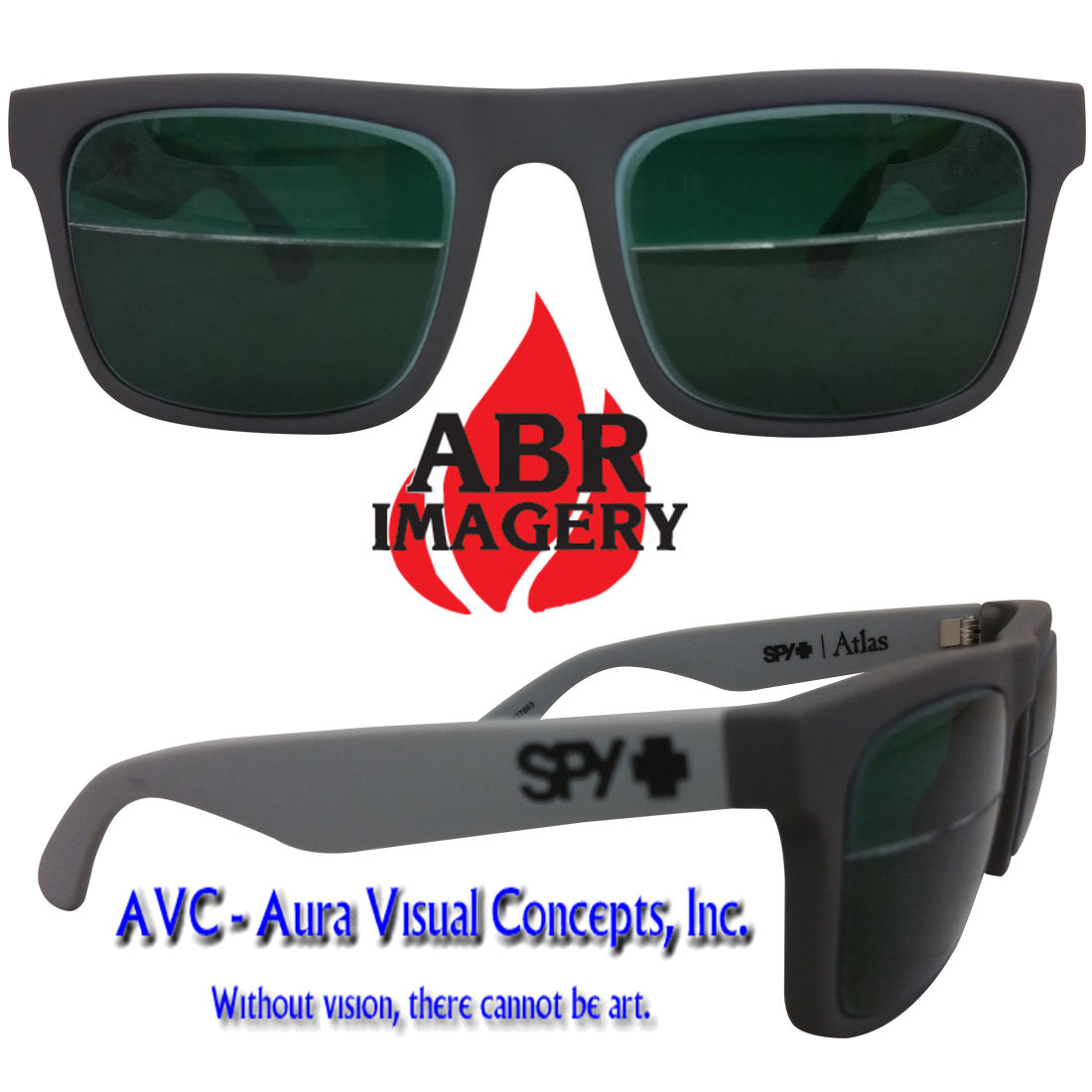 Spy Atlas Grey Shade 3/5 Aura Lens