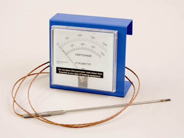 Analog Pyrometer w/o Thermocouple