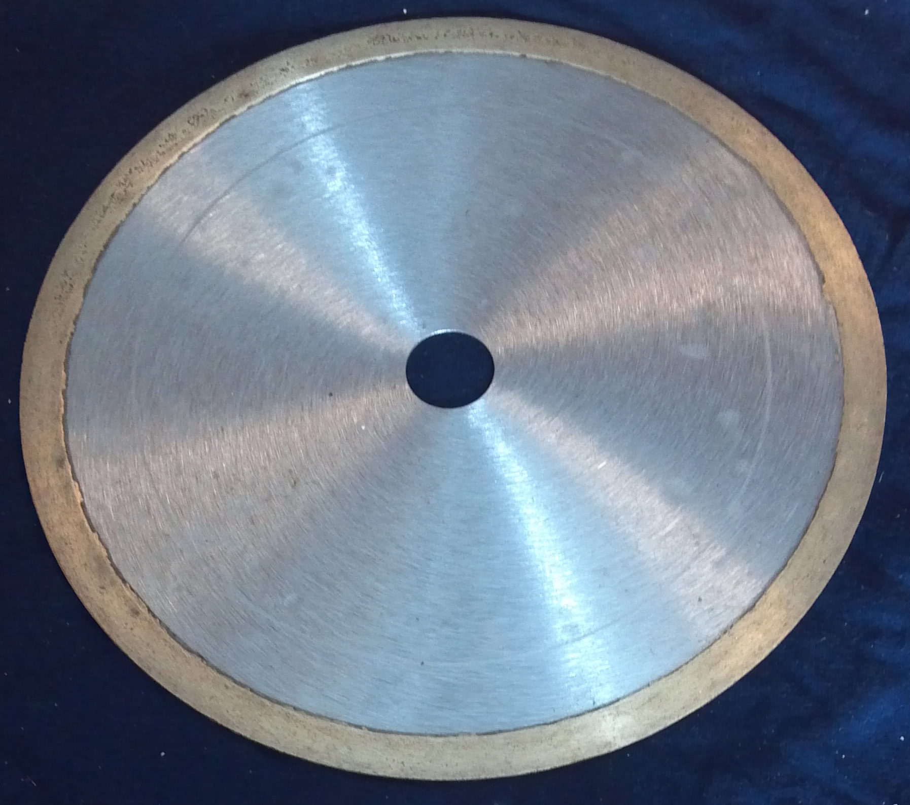 "10"" Metal-Bond Diamond Blade"