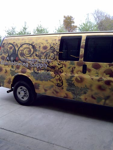 Custom Vinyl Window Graphics