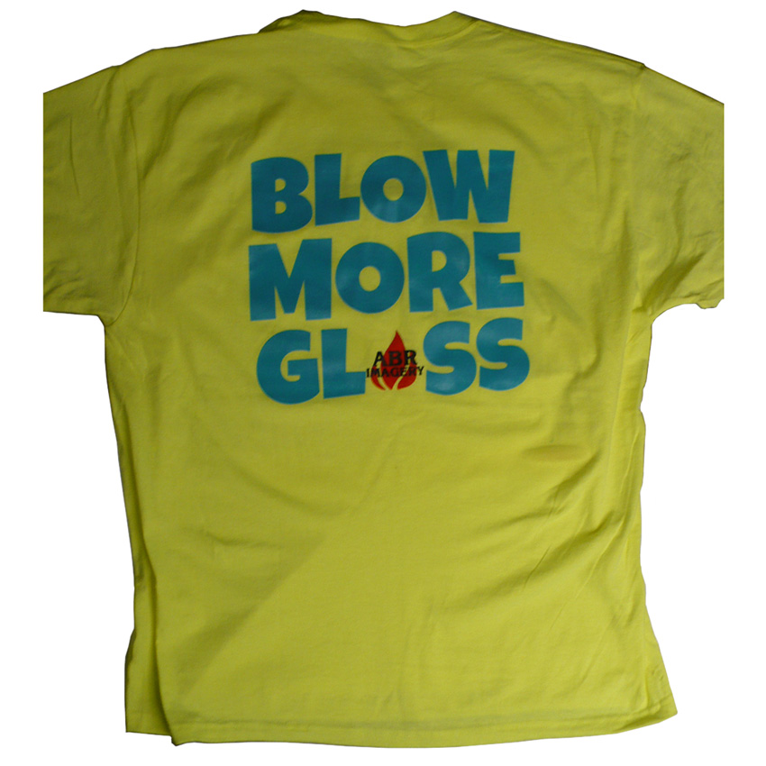 """Blow More Glass"" T-Shirt (L)"