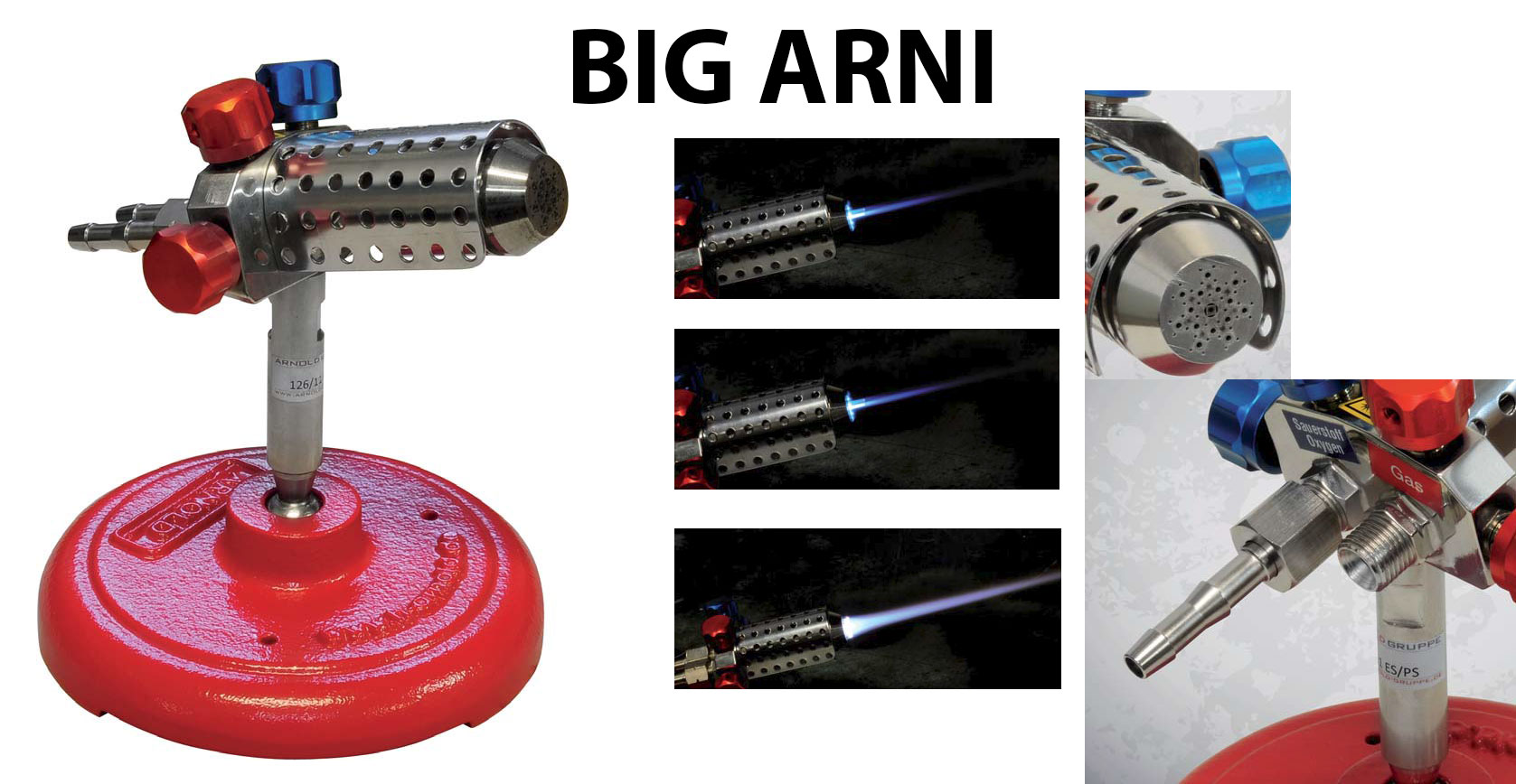 Herbert Arnold Big Arni Torch