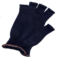 Fingerless Black Kevlar Gloves