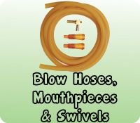 BLOW HOSES SWIVELS & MOUTHPIECES